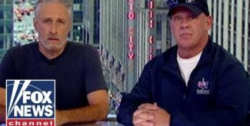 Jon Stewart Rips 'Bottom Feeder' Rand Paul For Blocking 9-11 First Responder Funding