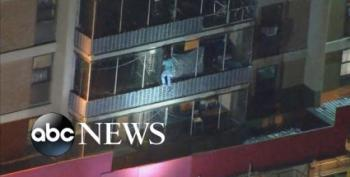 Philadelphia Man Climbs Up Side Of Apartment Building To Check On His Mom