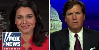 Tulsi Gabbard Silent On Racist Attacks While Appearing On Tucker Carlson's White Power Hour