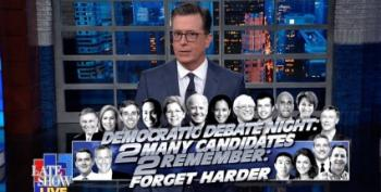 Stephen Colbert: 'Like Watching The Seven Dwarves Offering Snow White A Poison Apple'