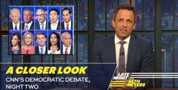 Seth Myers Takes A Closer Look At Last Night's Democratic Debate