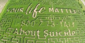 This Year's Corn Maze Is About Suicide Prevention