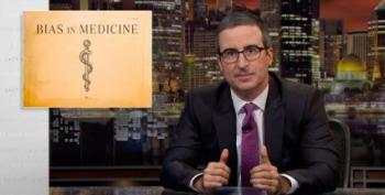 John Oliver Explains Why Doctors Are Biased Against Women And POC