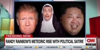 CNN Tracks The 'Meteroric Rise' Of Randy Rainbow - Yes, It's His Real Name