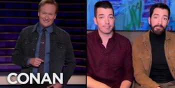 'Property Brothers' Give Conan Advice About Buying Greenland