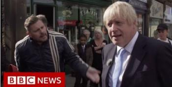 Boris Johnson Gets An Earful From Man On The Street:  'You're Playing Games'