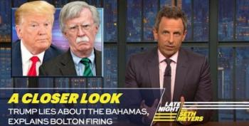Seth Meyers Takes A Closer Look At Trump's Refusal To Allow Bahamians Into U.S.