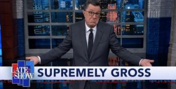 Stephen Colbert: 'I Didn't Think I'd Ever Be Talking About Brett Kavanaugh Again'