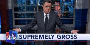 Stephen Colbert: 'I Didn't Think I'd Ever Be Talking About Brett Kavanaugh Again'