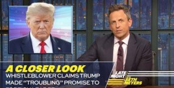 Seth Meyers Takes 'A Closer Look' At Whistleblower-Gate
