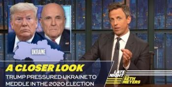 Seth Meyers Takes 'A Closer Look' At Trump's Ukraine Aid Shakedown