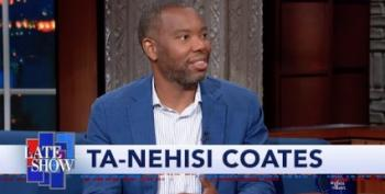Ta-Nehisi Coates Sits Down With Stephen Colbert