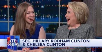 Hillary Clinton Talks Impeachment, 'Lock Him Up,' On Colbert