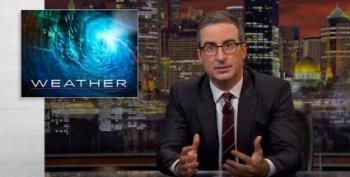 John Oliver Warns Of Trump's Nominee To Run The National Weather Service