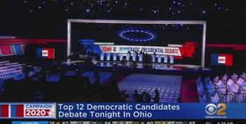 Democratic Debate Open Thread -- Watch With Us!