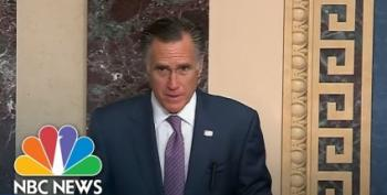 Sen. Mitt Romney Attacks Trump, Calls For Senate Hearings On Syria 'Deal'