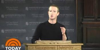 Zuckerberg Calls Disinformation 'Something We Have To Live With'