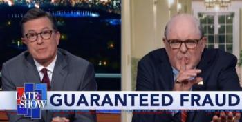 Colbert's Surprise Visitor Last Night Sets The Ukraine Record Straight
