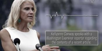 Kellyanne Conway Attacks Reporters, Claims Husband 'Gets His Power Through Me'