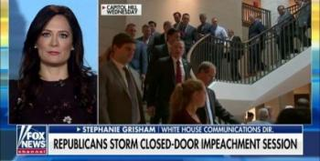 Stephanie Grisham Expands Trump's Category Of 'Scum'