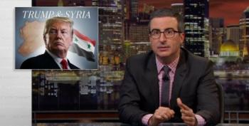 John Oliver On Trump's Syria Policy: 'Genuinely Hard To Get It This Wrong'