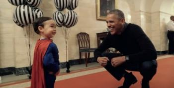 Remembering Halloween With The Obamas