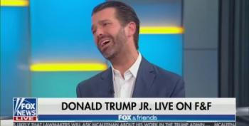 Junior Trump Smears Vindman As 'Leftist Veteran' On Trump TV