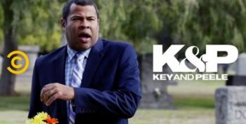 An Awkward Halloween Run-In With Key And Peele