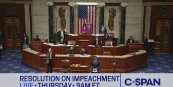 House Passes Bill To Go Forward With Public Impeachment Inquiry