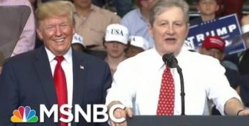 Sen John Kennedy Wrote His Own Obituary At Trump Rally