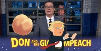 Colbert Hosts A Very Special Edition Of 'Don And The Giant Impeach'