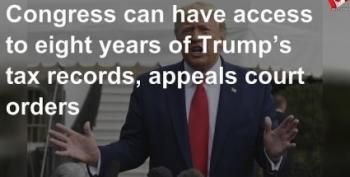 Appeals Court Again Rules Trump Must Turn Over Tax Returns To House