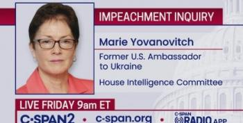 LIVESTREAM: Ambassador Marie Yovanovitch Testifies In Impeachment Inquiry