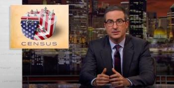John Oliver: If You Want To Make Trump Mad, Fill Out The Census