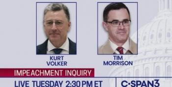 LIVE STREAM: Kurt Volker And Timothy Morrison Testify In Impeachment Inquiry