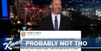 Jimmy Kimmel: Stable Genius Has A Check Up