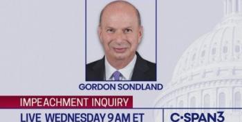 LIVE STREAM: Amb. Gordon Sondland Testifies In Impeachment Inquiry