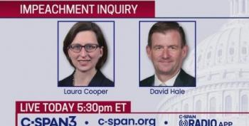 LIVE STREAM: Laura Cooper And David Hale Testify In Impeachment Inquiry