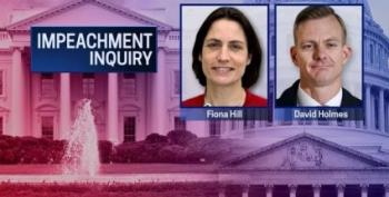 LIVE STREAM: Dr. Fiona Hill And David Holmes Testify In Impeachment Inquiry