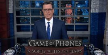 Stephen Colbert Unveils Game Of Phones And A Catchy Impeachment Jingle