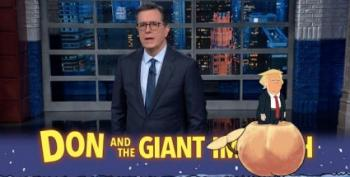 Stephen Colbert Shows Us His Impeachment Advent Calendar!