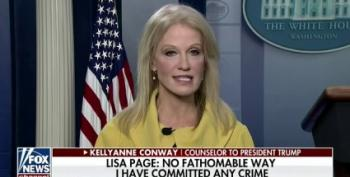 Kellyanne Conway Smears 'Rattled' Lisa Page For Speaking Out