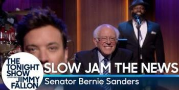 Bernie Sanders Slow Jams The News
