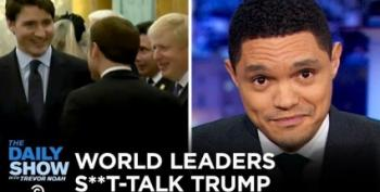 The Daily Show Covers World Leaders 'Sh*t Talking' Trump