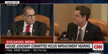 Why Is Matt Gaetz Yelling?