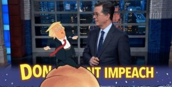 Colbert Shreds Trump's Alternate Reality Of Russia Probe