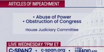 House Judiciary Committee Marks Up Articles Of Impeachment