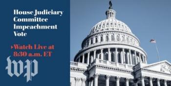 House Judiciary Debates, Votes On Articles Of Impeachment