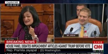 Please Enjoy A Video Of Pramila Jayapal Shutting Down Jim Jordan