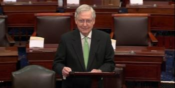 McConnell Announces He'll Move To 'Dismiss Charges' Against Trump